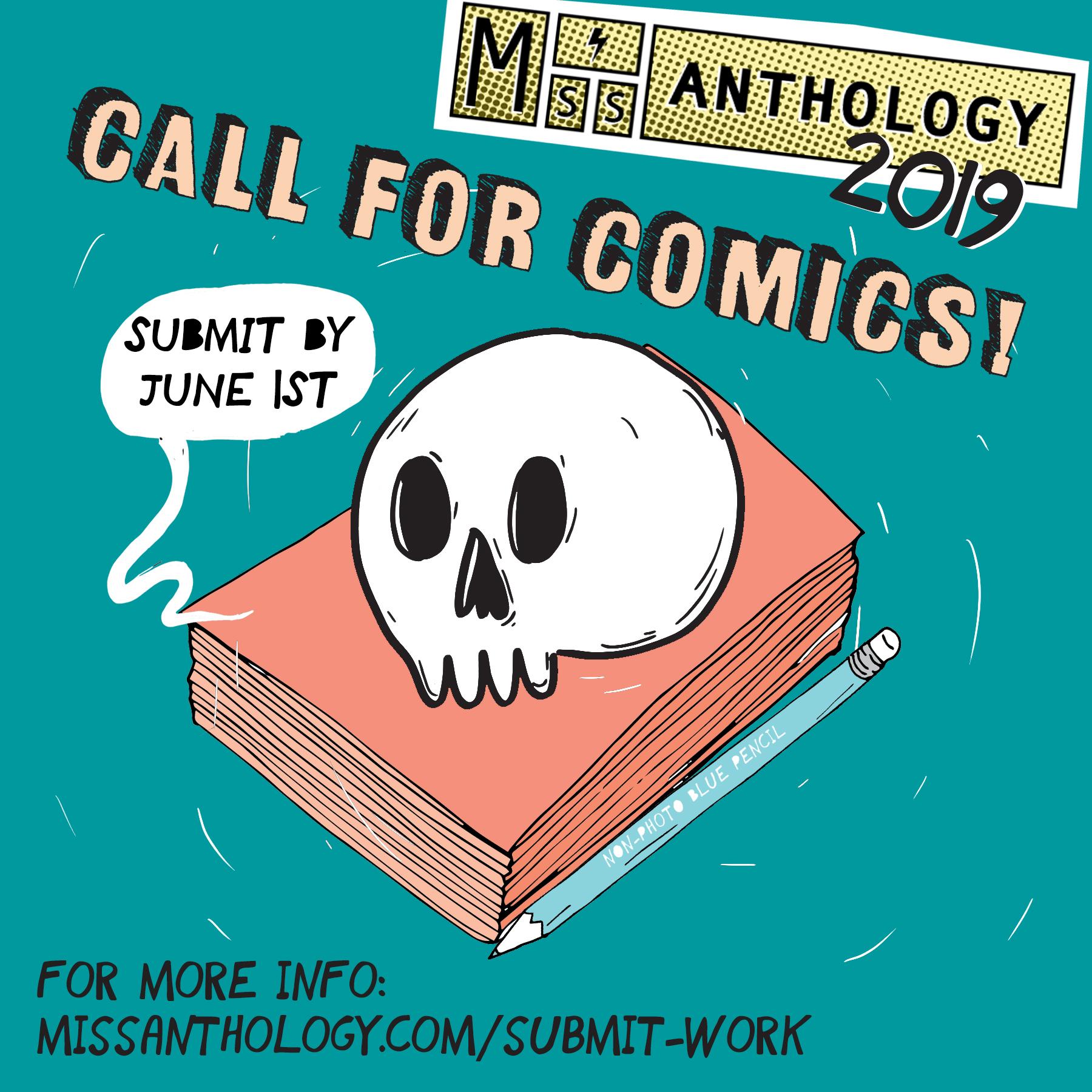 2019 call for comics