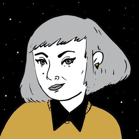 self portrait-square